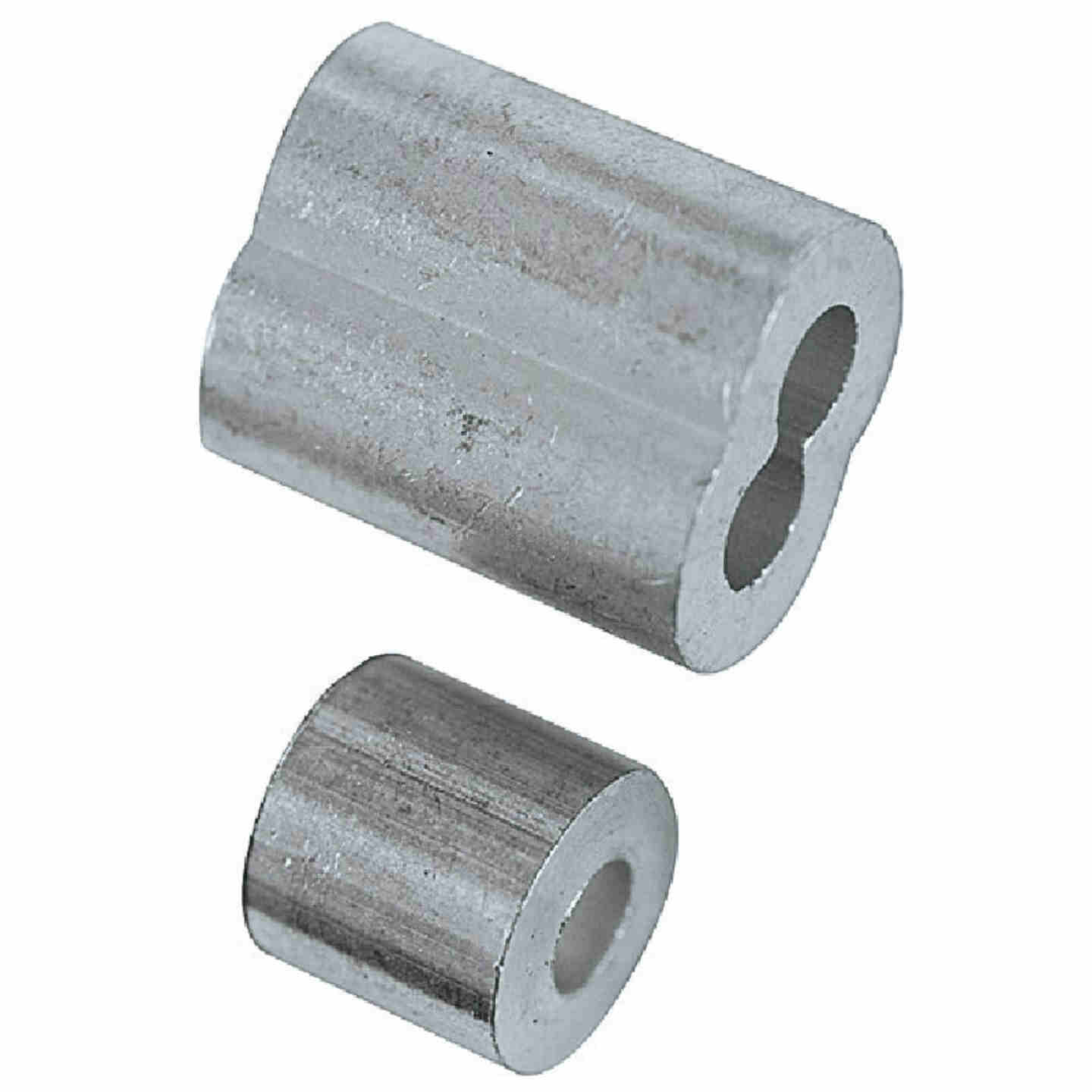 """Prime-Line Cable Ferrules and Stops, 1/8"""", Aluminum Image 2"""
