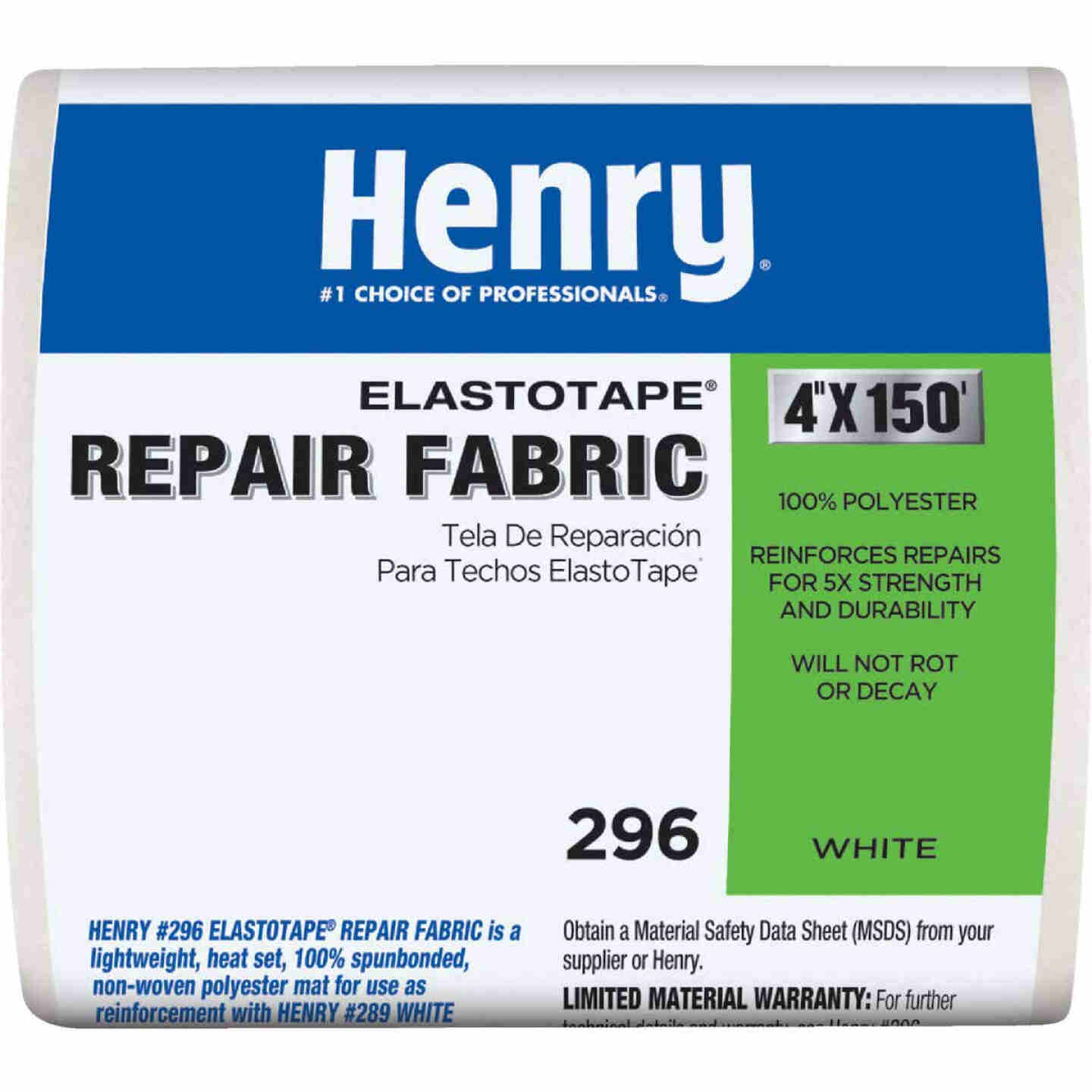 Henry ElastoTape 4 In. x 150 Ft. Reinforcing Fabric Image 1