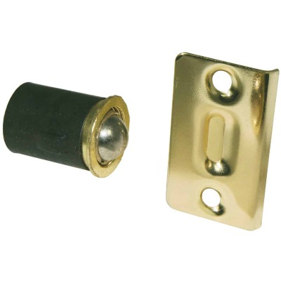 Ultra Hardware Polished Brass Closet Door Ball Catch