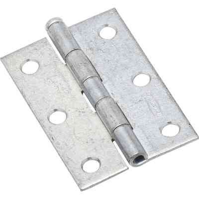 National 3 In. Zinc Loose-Pin Narrow Hinge (2-Pack)