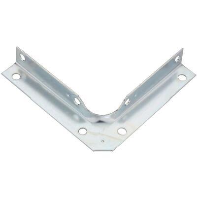 National Catalog V114 Series 4 In. x 5/8 In. Zinc Corner Brace (4-Count)