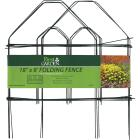 Best Garden 8 Ft. Green Galvanized Wire Folding Fence Image 2